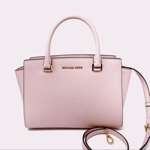 New Michael Kors Selma Medium Satchel Bag Blossom